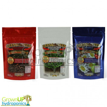 SEESOGREEN - Powdered Plant Nutrients - Basic-Root-Bloom-Booster