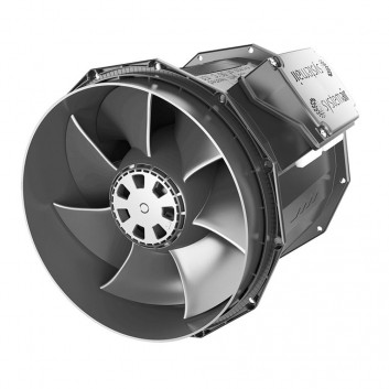 SystemAir Revolution Vector EC Fan - Digital and Very Powerful