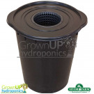 Plant!T 20L Litre - Black Bucket and Lid - Hydroponics Kits/Storage