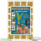 Root Riot Tray of 24 Rockwool Plugs - Seed, Cutting or Clone starting media - Hydroponics Propagation