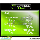 Digital Display - Control Freak - Silent - Dynamic Frequency Fan Controller