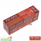 25 x Small - Zip-Zag Resealable Bag - Smellproof