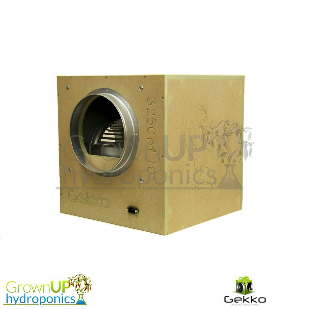 Gekko acoustic box fans grow room extraction reduce for How to reduce noise in a room