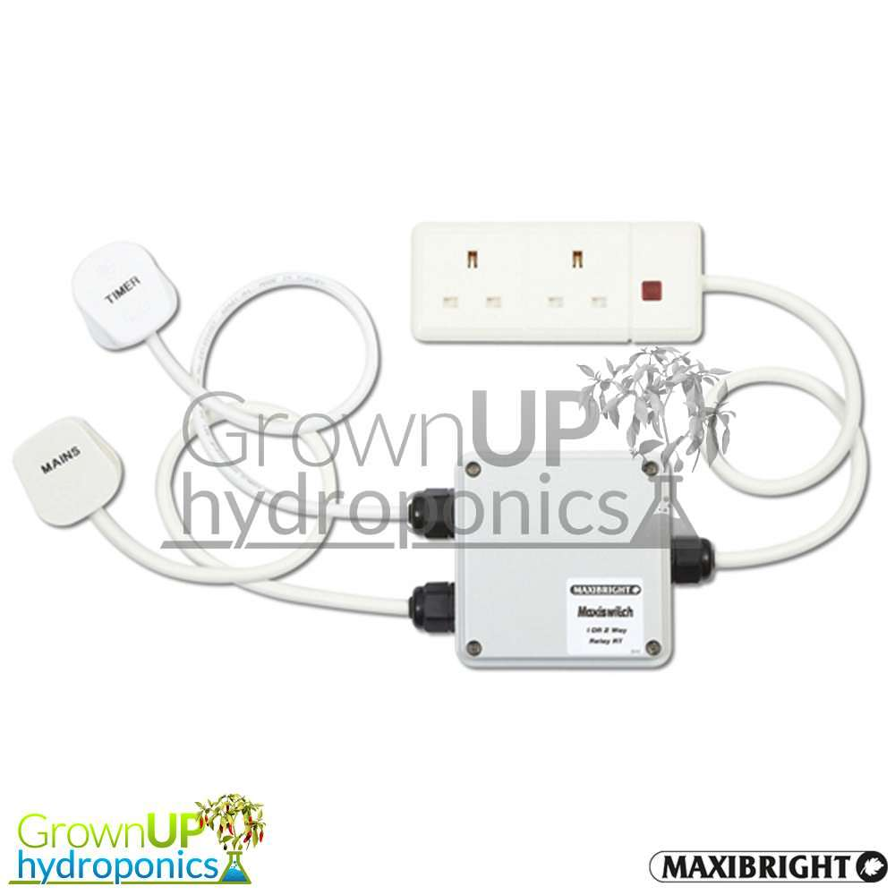 maxibright maxiswitch contactor  relay - grow light
