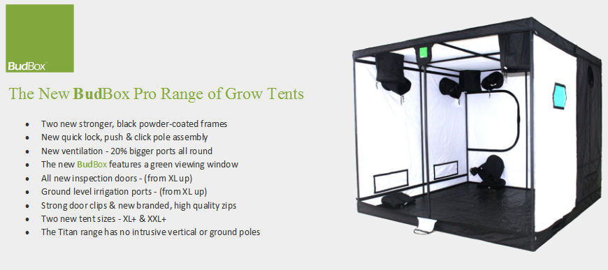 BudBox Grow Tents - Simply The Best!
